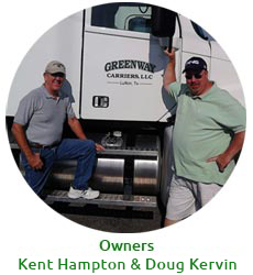 Owners Doug Kervin and Kent Hampton